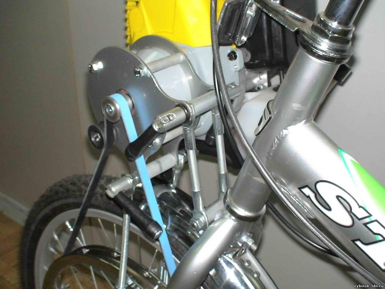 Подвесной двигатель велосипеда