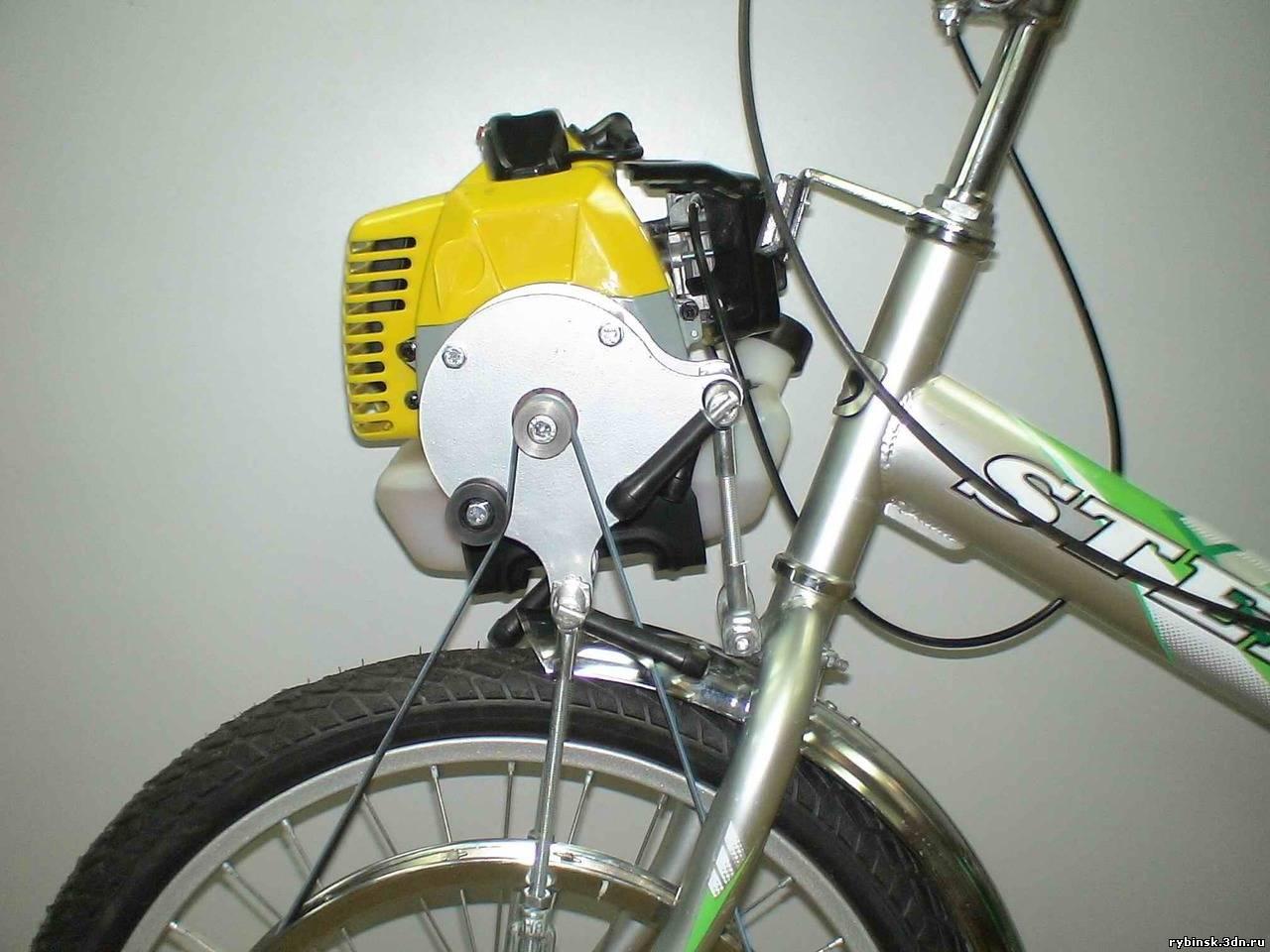 велосипедный подвесной мотор